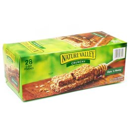 GENERAL MILLS GARDETTO'S Nature Valley, Oats 'n Honey Granola Bar 28ct. Box