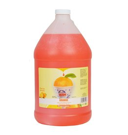 Sno-Kone Sno-Kone Syrup, Orange 1 Gallon