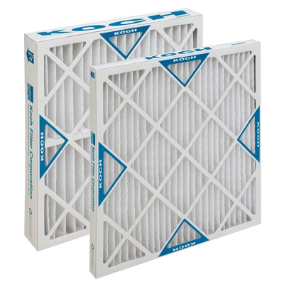 "Koch Filter Filters, Multi-Pleat XL 16""x25""x2"" 12ct. Case"