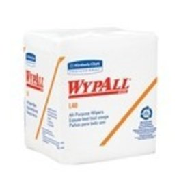 Kimberly-Clark Wipers, WypAll L40 1/4-Fold 18/56ct.