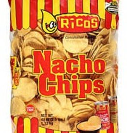 RICOS PRODUCTS, INC. Nacho Chips, Ricos Yellow Round Chips 48/3oz. Case