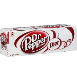 PEPSI COLA CORP Diet Dr. Pepper, 24/12oz. Case