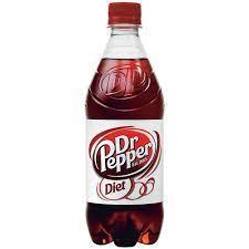 PEPSI COLA CORP Diet Dr. Pepper, 24/20oz. Case