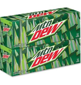 PEPSI COLA CORP Mountain Dew, 24/12oz. Case