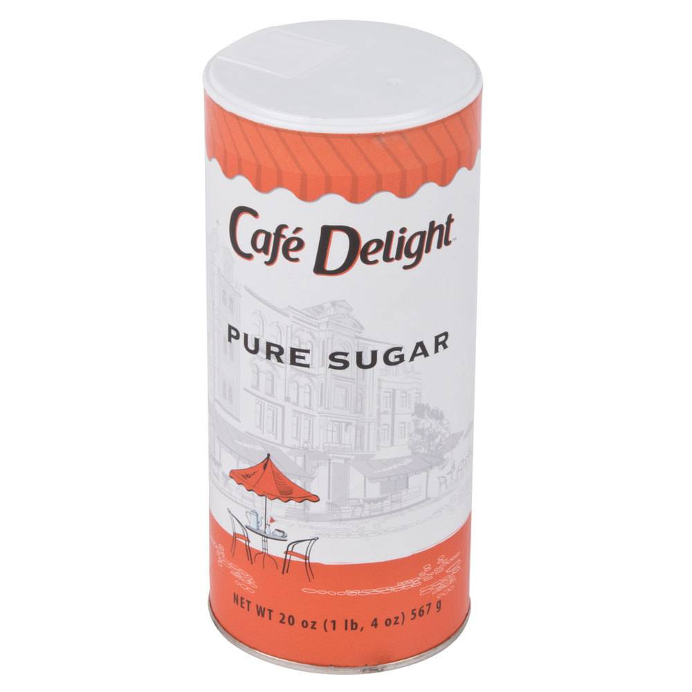 Diamond Crystal Sugar, Canisters 24/20oz. Case