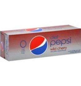 PEPSI COLA CORP Diet Wild Cherry Pepsi, 24/12oz. Case