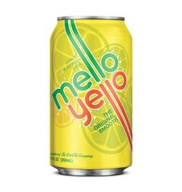 COCA COLA USA Mello Yello, 24/12oz. Case