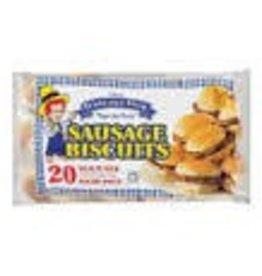 Purnell, Sausage Biscuit Sandwich