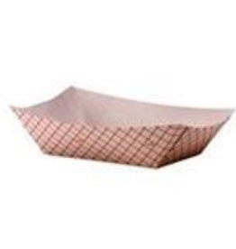 HUHTAMAKI INC Food Tray, 3lb Paper 2/250ct Case