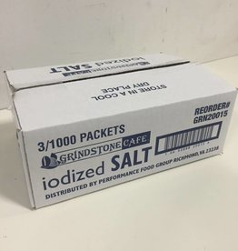 GRINDSTONE CAFE Salt, Packets 3/1000ct. Case