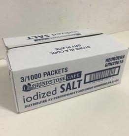 GRINDSTONE CAFE Salt, Packets 3/1000ct. Case