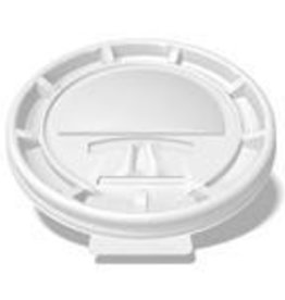 Lids, 10-24oz. White Plastic Lid LHRL 100ct. Sleeve