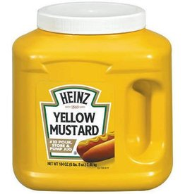 KRAFT HEINZ Mustard, Heinz Yellow #10 Plastic Jug