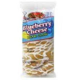 Pastry, Blueberry Cheese Claw 10ct. Box