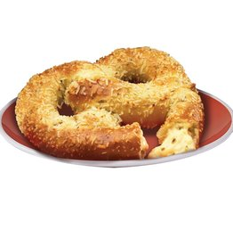 J AND J SNACK Soft Pretzel, Stuffed Jalapeno Cheese Lg. 24ct. Case