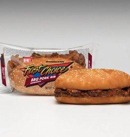 BBQ Pork Rib Sandwich