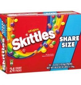 WM. WRIGLEY JR. COMPANY Skittles, Original King Size 24ct. Box