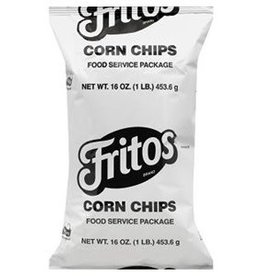 FRITO-LAY/CRACKER SNACKS Fritos Original Corn Chips Bulk, 8/1lbs Case