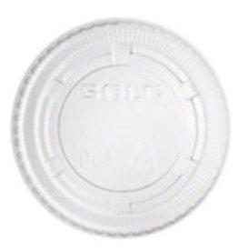PRIME SOURCE Souffle Lids, P/S 2oz. Clear Vented Lid 100ct. Sleeve