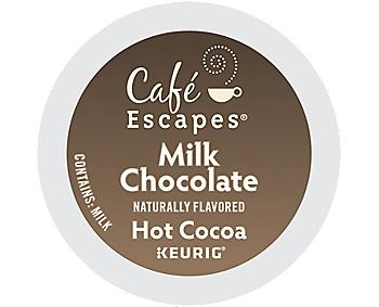 KEURIG GREEN MOUNTAIN INC Cocoa, Kuerig K-Cup Pod Hot Cocoa, 4/24ct. Case
