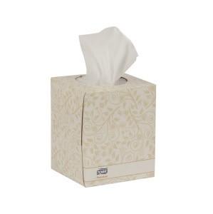 TORK Facial Tissue, Tork Premium Facial Tissue Cube Box 94ct.