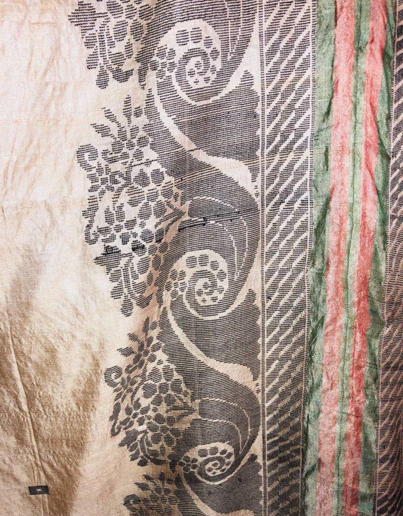 Anna Von Hellens AVH - SS18 -  #9 Handloomed Handyed Tussar Silk