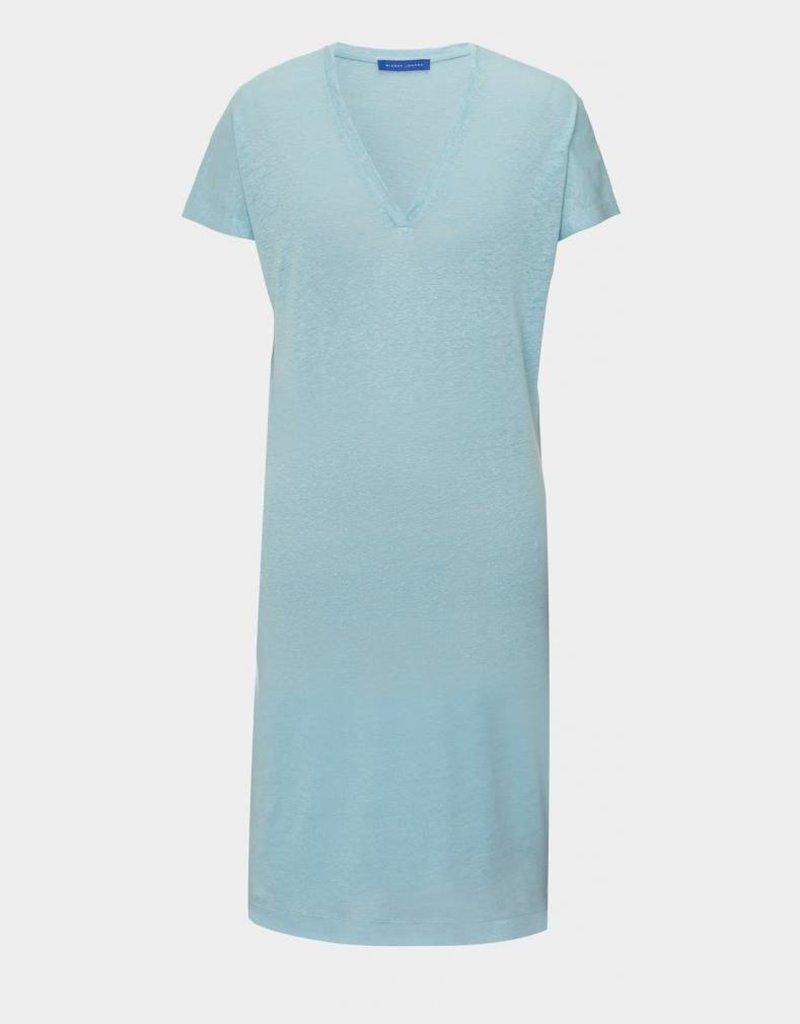 Winser London WL-Pure Linen T-Shirt Dress