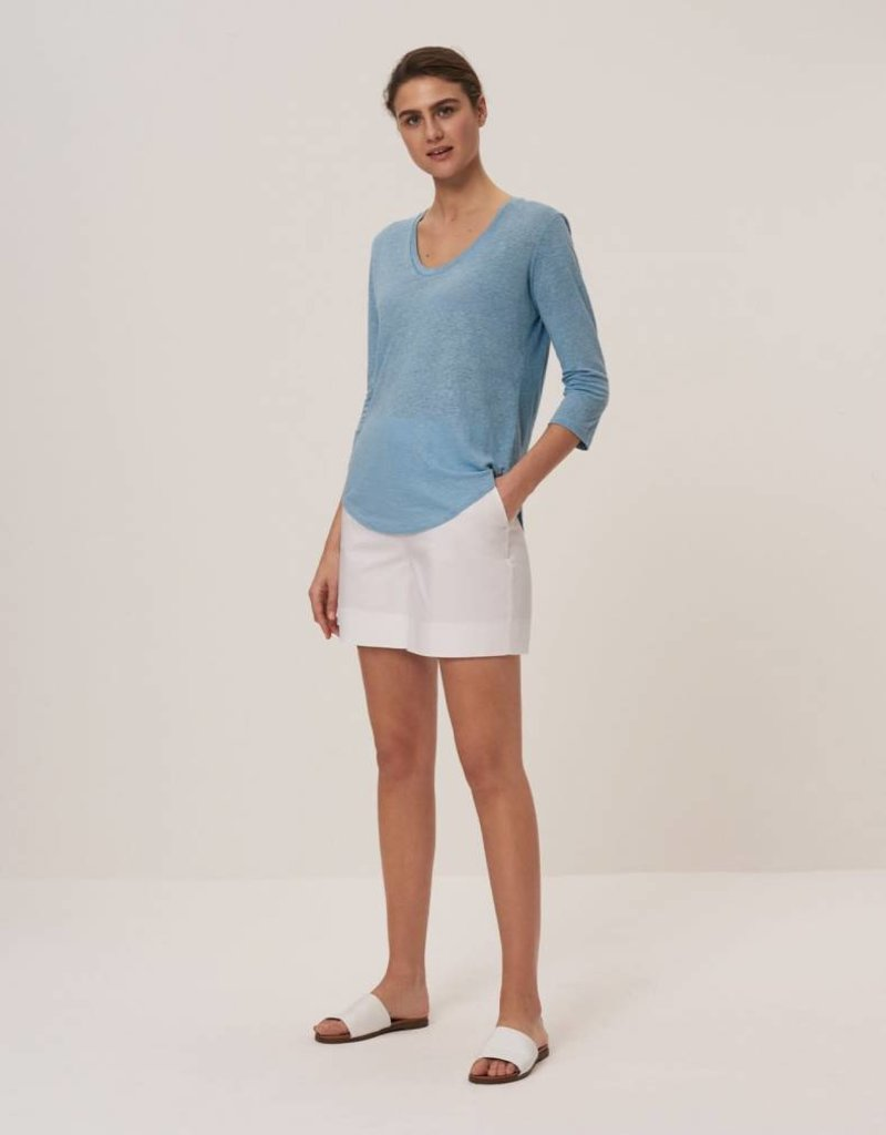 Winser London WL-Cotton Twill Shorts