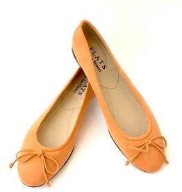 ALICE Ballerina- Suede Tangerine