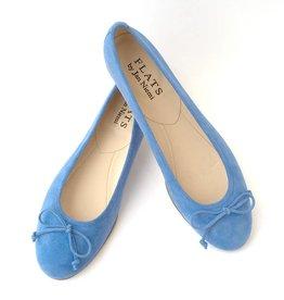 ALICE Ballerina- Suede Sky