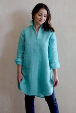 Flats Swiss Shirt Linen - SS17 Chambray