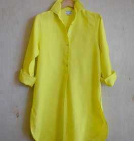 Flats Swiss Shirt Linen - SS17 Canary