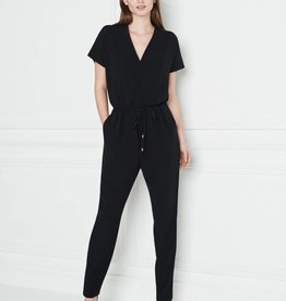 Winser London Satin Back Crepe Jumpsuit