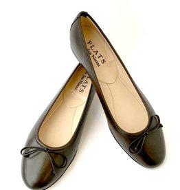 ALICE Ballerina- Nappa Dark Brown
