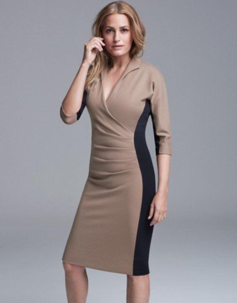 Winser London WL-Grace Miracle Color Block Dress