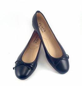 Flats Ballerina- Nappa Black