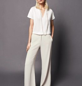 Winser London WL- Wide Leg Flat Front Trouser