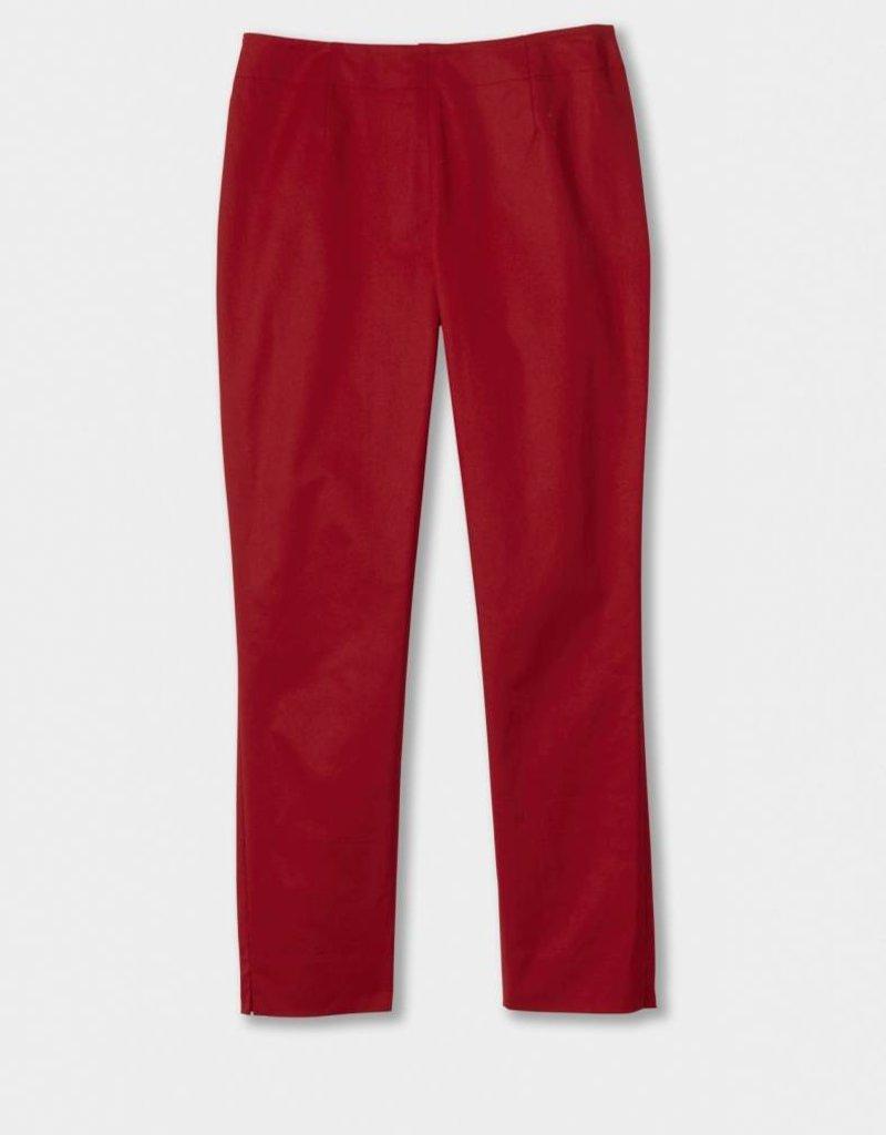 Winser London WL-Cotton Twill Capri Trouser