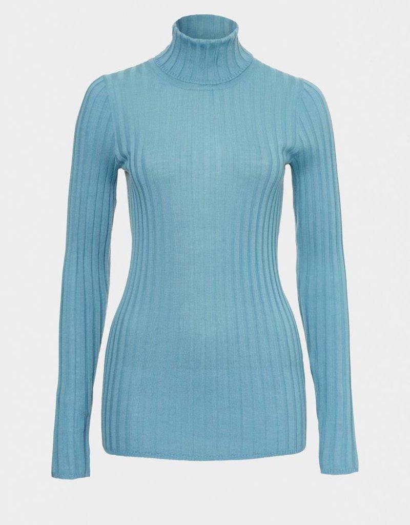 Winser London WL-Merino Wool Polo Neck Jumper