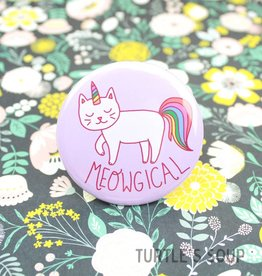 Turtle's soup Meowgical Cat Pin