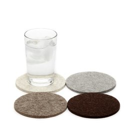 Graf Lantz Felt Coasters, Earth