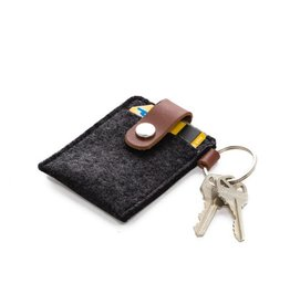 Graf Lantz Key Card Case, Charcoal