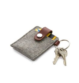 Graf Lantz Key Card Case, Granite