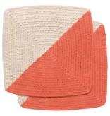 Now Designs Crochet Angle Sienna Dish Cloths