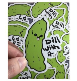 Andrea K Doodles Dill With It Sticker