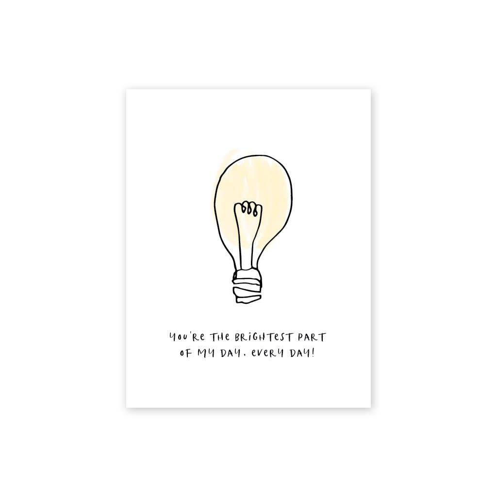Page Stationery Brightest Part Card