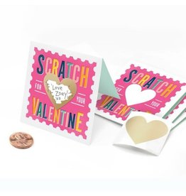 Inklings Scratch-Off Valentines, Pink