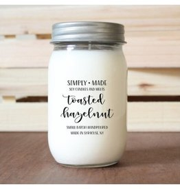 Simply Made Candles Toasted Hazelnut