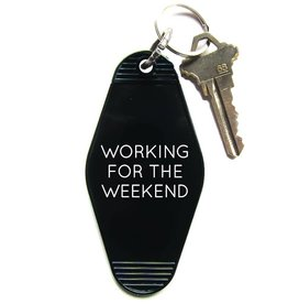 Three Potato Four Key Tag - Working For Weeked
