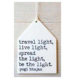 MB Art Studios Travel Light Tag